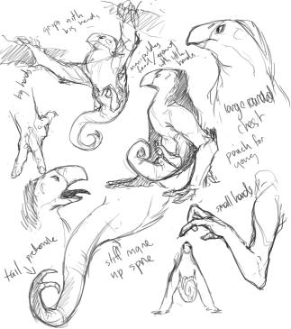 hand alien anatomy