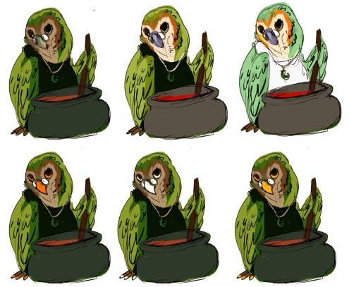 kuki colour variations