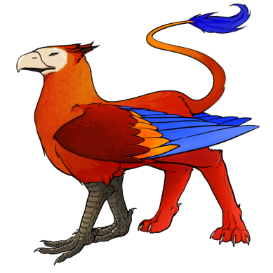 gryphon_macaw red