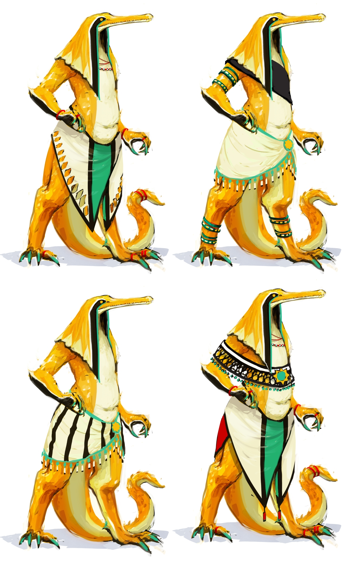 pim costume variations